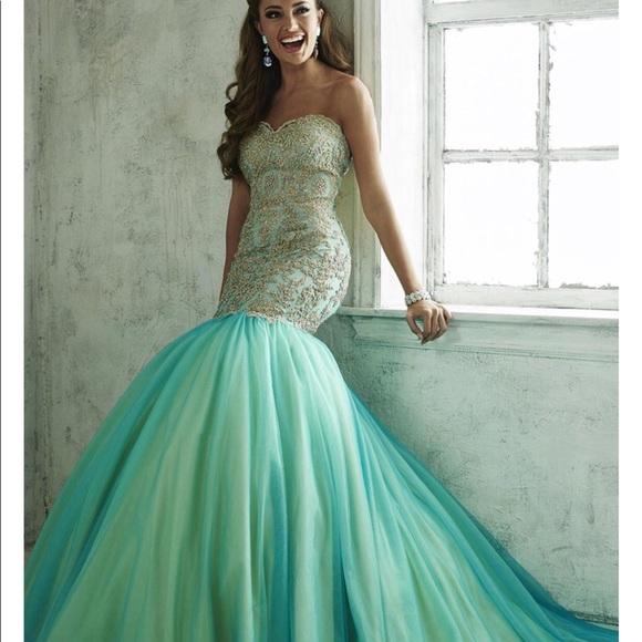 Tiffany Designs Dresses   Tiffany Exclusive Prom Dress   Poshmark